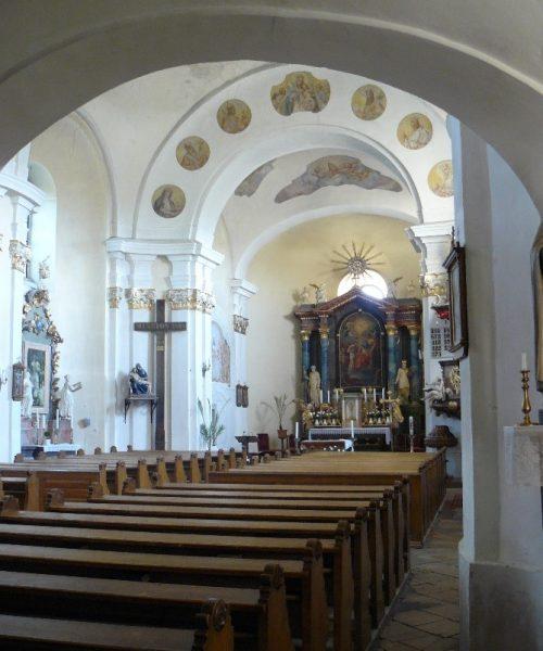 Zsámbék templombelső